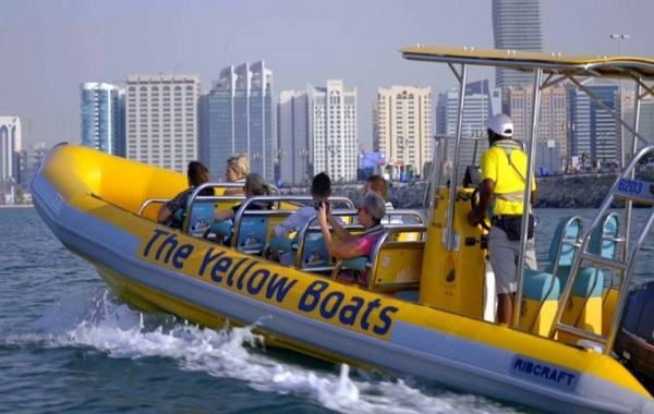 Yellow Boats Ride Dubai