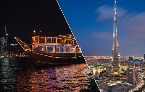 Dubai Tour + 01 Hr Marina Cruise