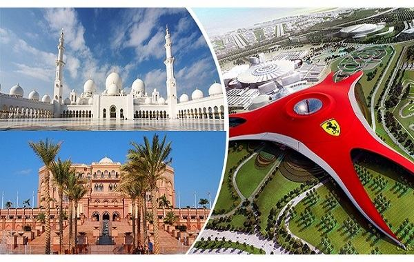 Abu Dhabi Tour + Ferrari World