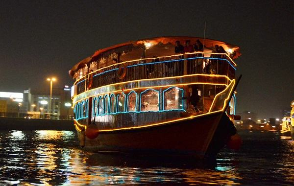 Dhow Cruise - Dubai Creek
