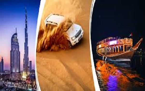 Dubai Standard Trio Package
