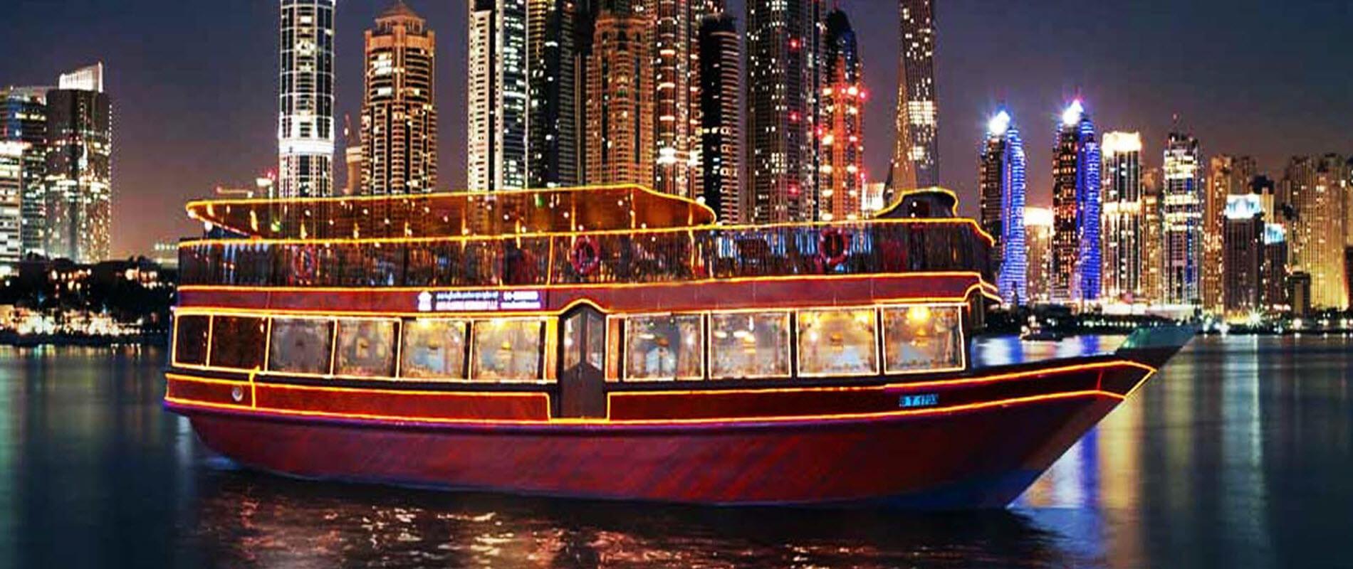 Dubai Canal Glass Cruise Tour