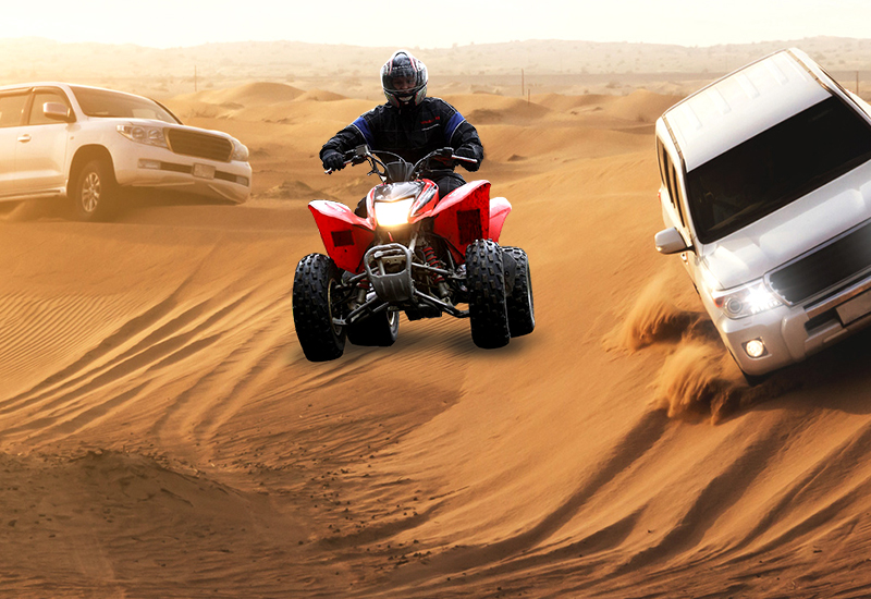 Arabian Desert Safari with Quad Biking