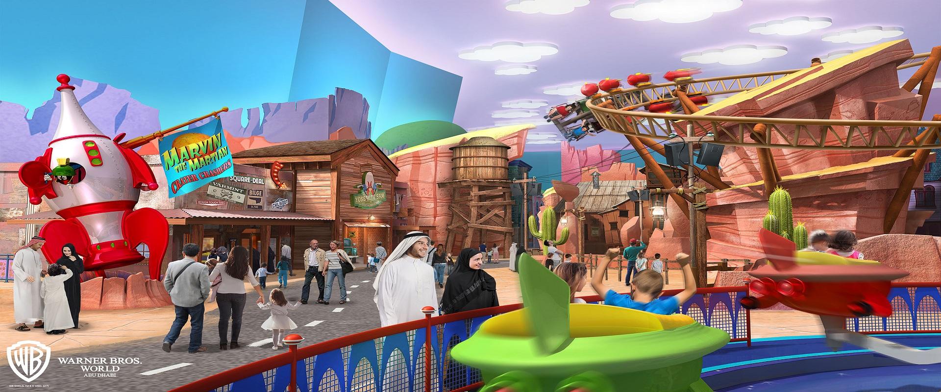 Warner Bros World - Abu Dhabi
