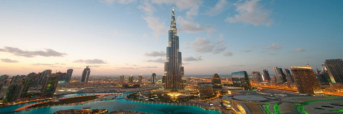 Burj Khalifa and The Café Treat