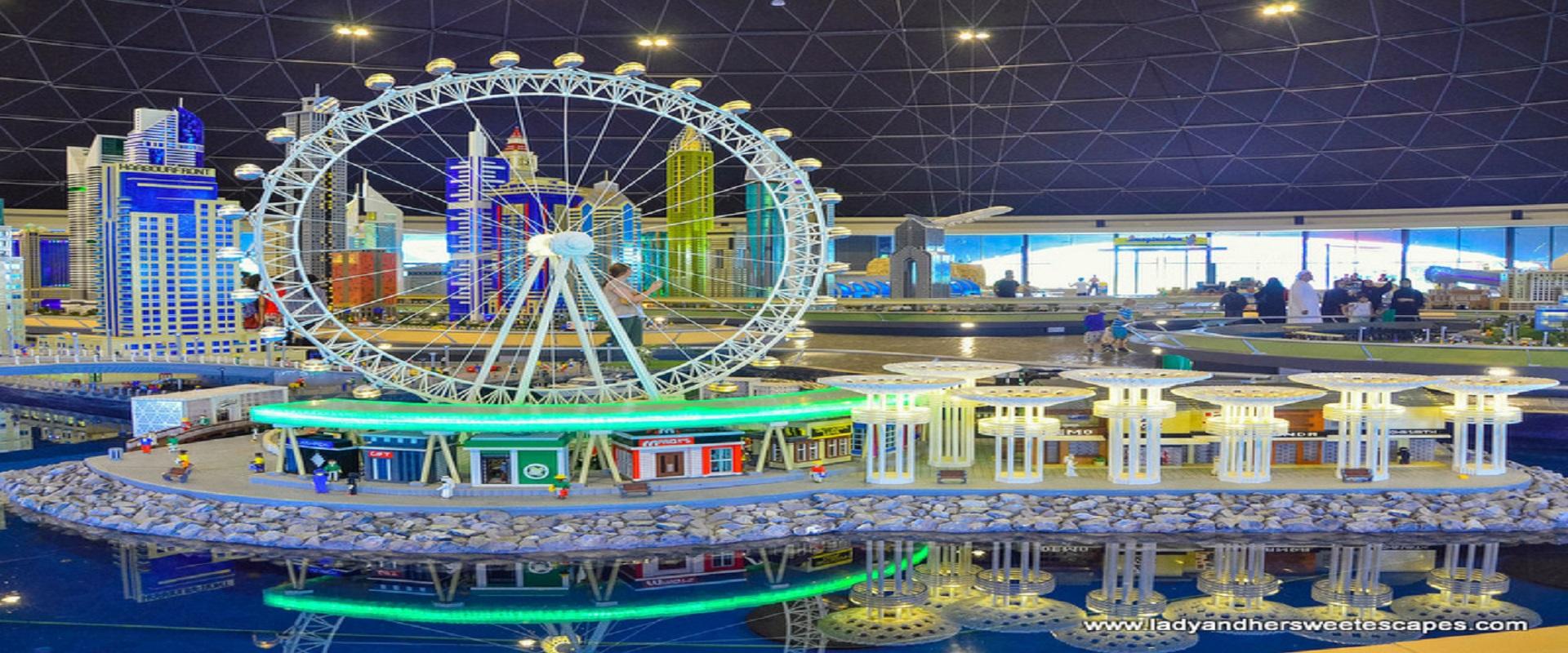 Legoland Theme Park + Dubai Aquarium & Underwater Zoo