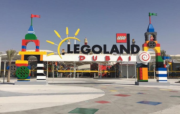 Legoland Theme Park + Burj Khalifa 124th Floor