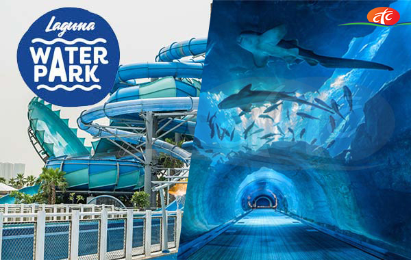 Laguna Water Park + Dubai Aquarium & Underwater Zoo