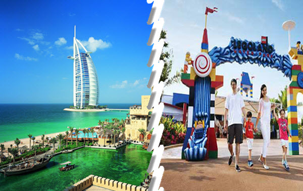 Dubai City Tour + Dubai Parks and Resorts