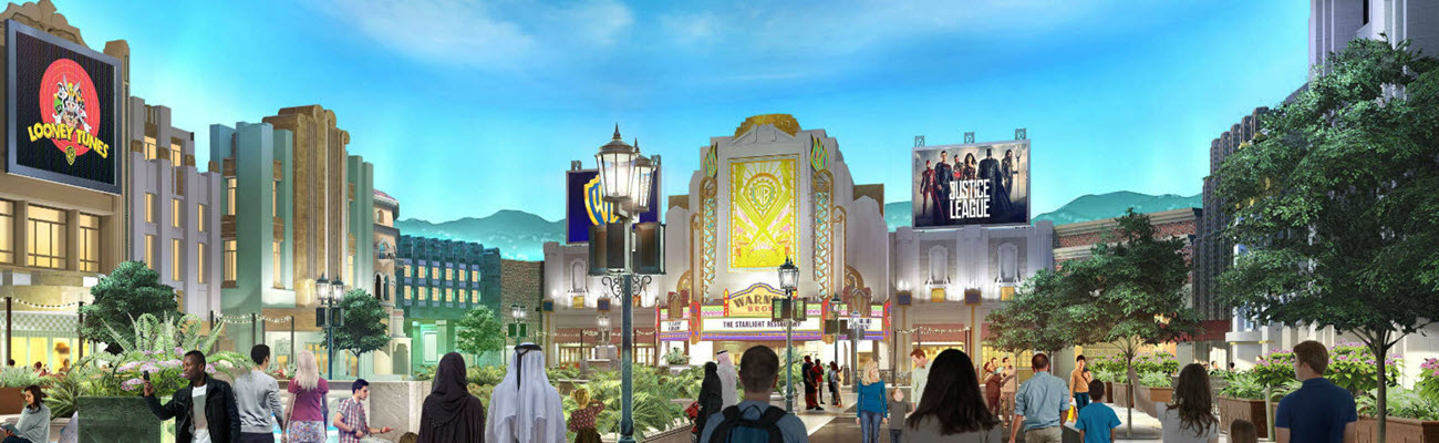 Warner Bros World with Meal | Abu Dhabi