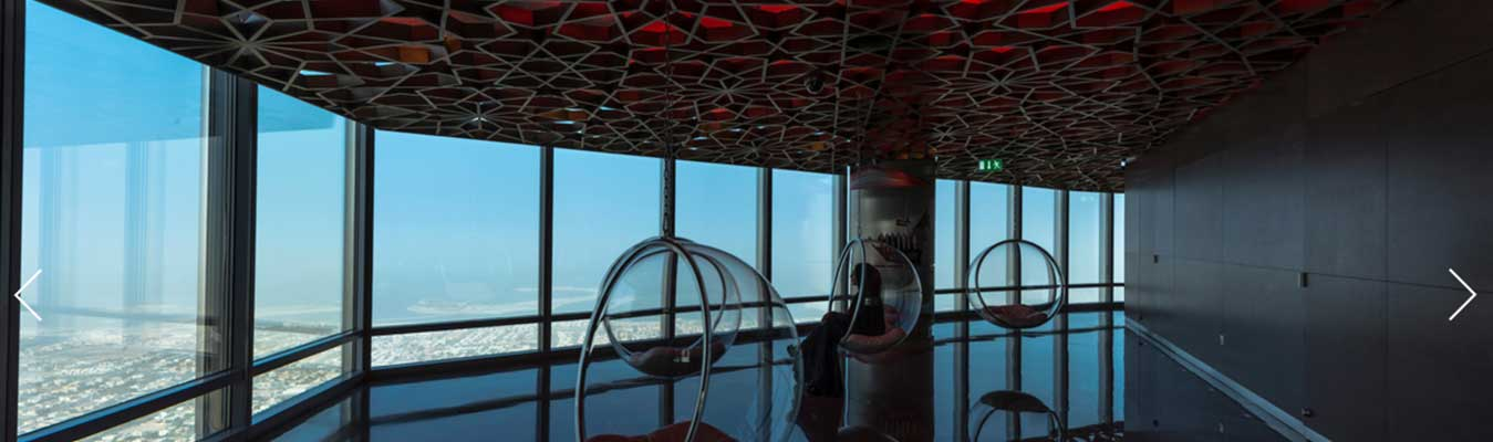 Motiongate and Burj Khalifa 124 Floor (Non Prime)