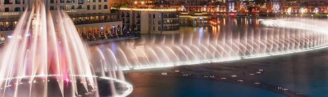 Burj Khalifa and Fountain Boardwalk