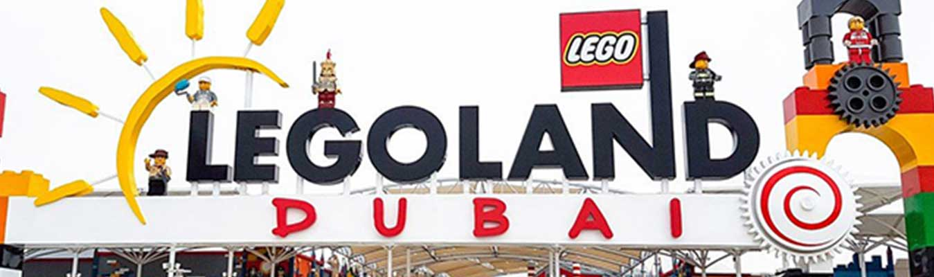 Legoland Theme Park and Dubai Aquarium & Underwater Zoo