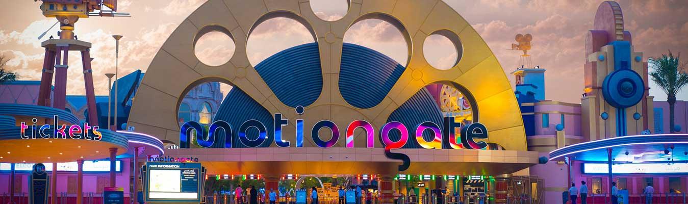 Motiongate and Dubai Aquarium and Underwater Zoo