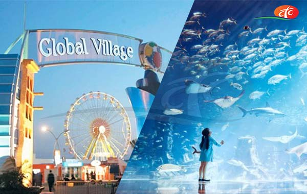 Dubai Aquarium & Underwater Zoo and Global Village