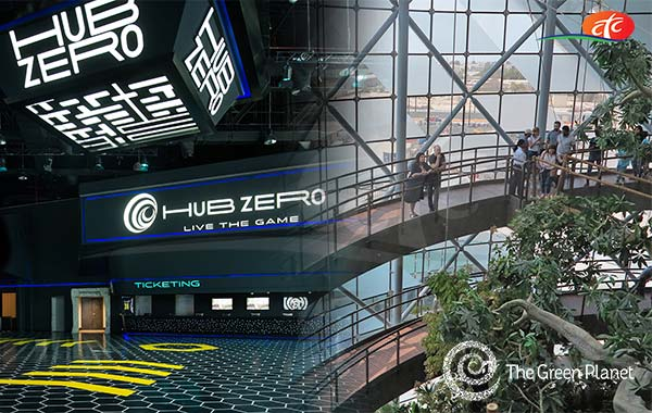 City Walk - Hub Zero and Green Planet