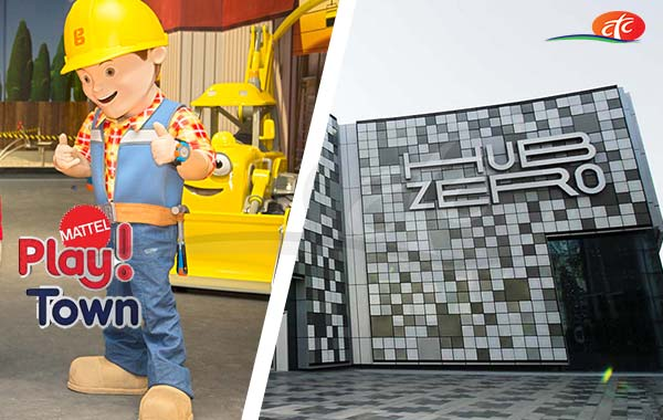 City Walk: Hub Zero + Mattel Play Town