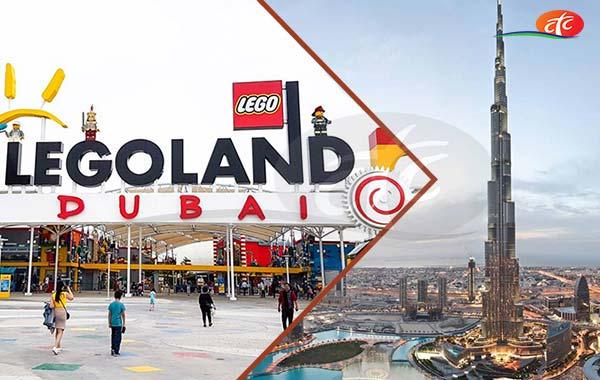 Legoland Theme Park and Burj Khalifa 124 Floor (Non Prime)