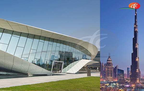 Etihad Museum and Burj Khalifa (Prime Hours)