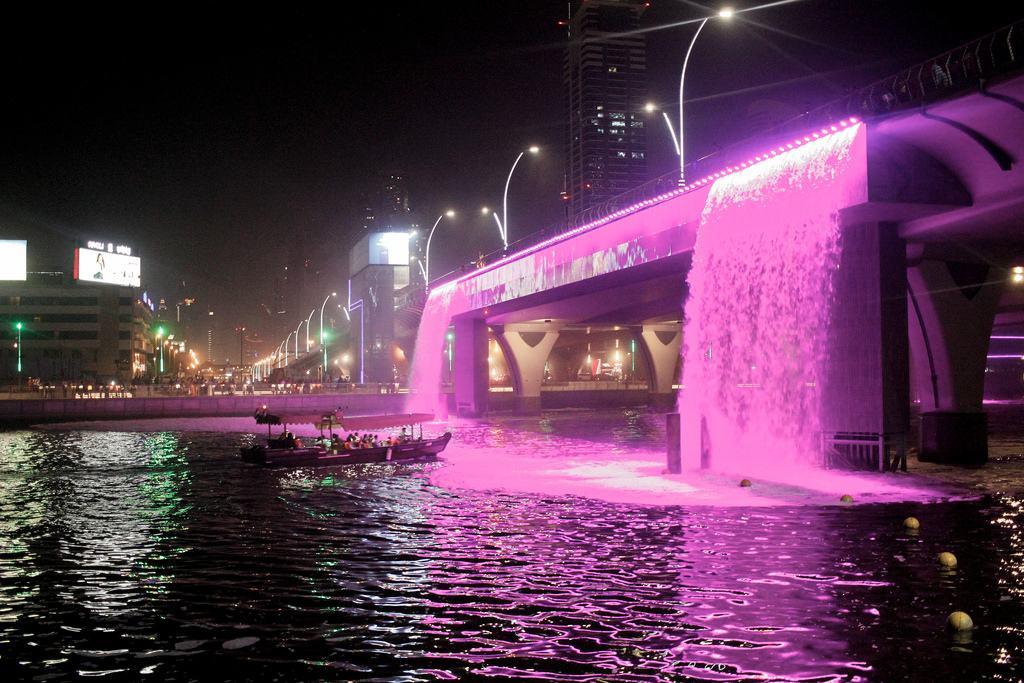 Glass Boat Dubai Canal Marina Dhow Cruise Deals Dubai