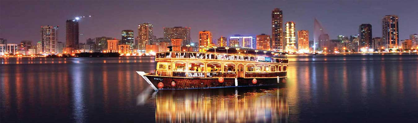 Dhow Cruise Premium - Dubai Creek Four Star Tour
