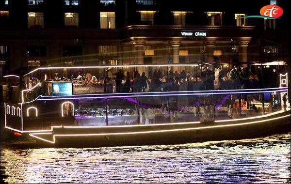 Dubai Canal Glass Cruise Tour