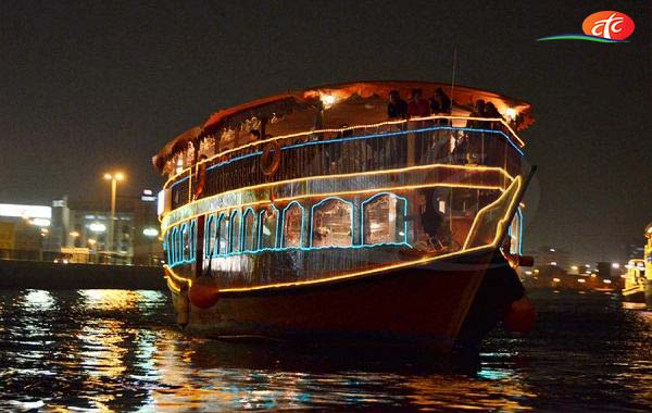 Dhow Cruise Dubai Creek Tour
