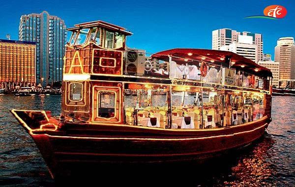 Dhow Cruise Premium - Dubai Creek Four Star Tour