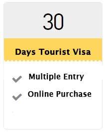 30 Days Tourist Visa (Multiple Visa)