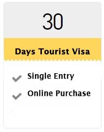 30 Days Tourist Visa