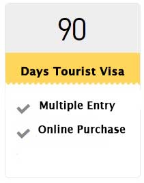 90 Days Tourist Visa (Multiple Visa)