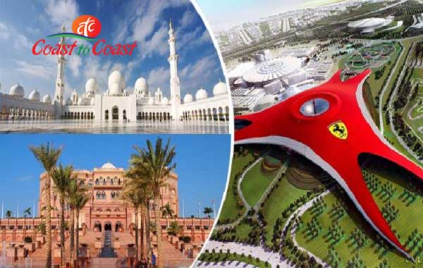 Abu Dhabi City Tour + Ferrari World