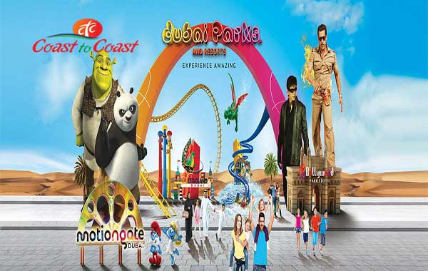 Dubai Parks – 01 Day Any 01 Park