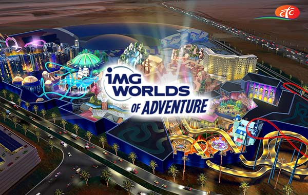IMG World of Adventure Tickets (IMG -عالم المغامر)