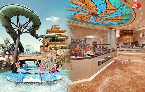 Aquaventure Water Park and Lunch at Atlantis the Palm