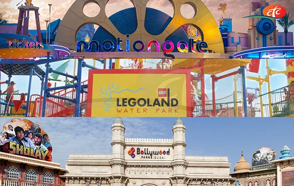 01 Day Any 02 Parks - Bollywood and Motiongate / Legoland