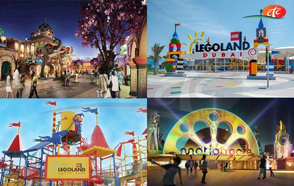 02 Day Any 02 Parks - Motiongate, Bollywood and Legoland