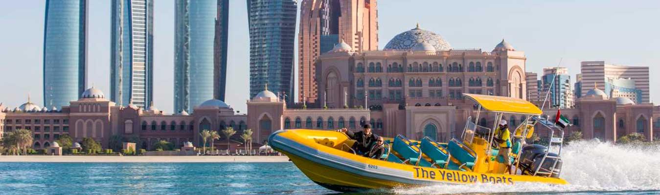 Yellow Boat Ride - Abu Dhabi